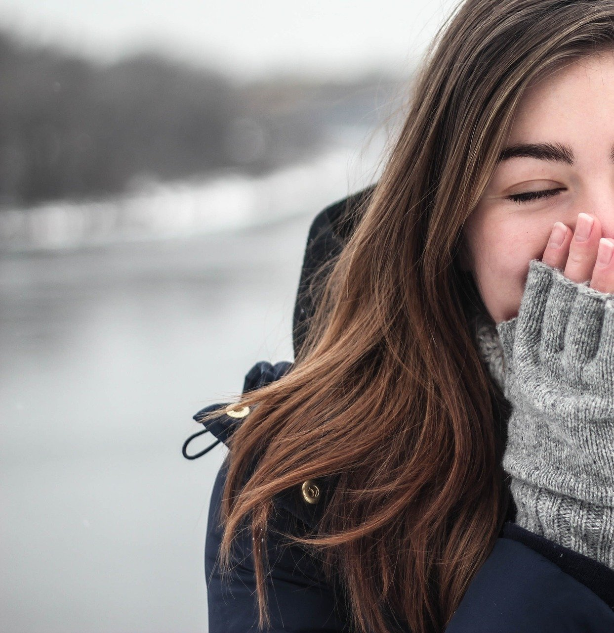 Typische winterkleding